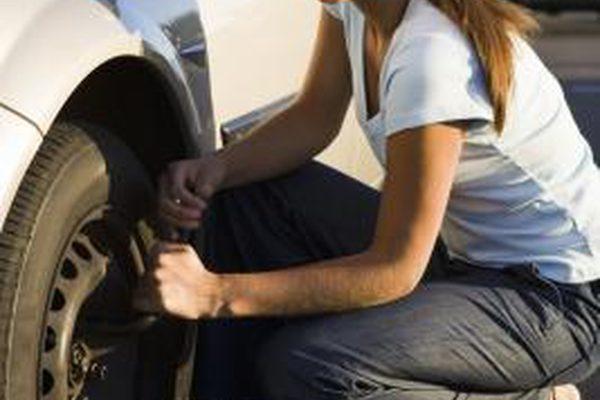 На что указывает изменчивая одежда на краю шины?