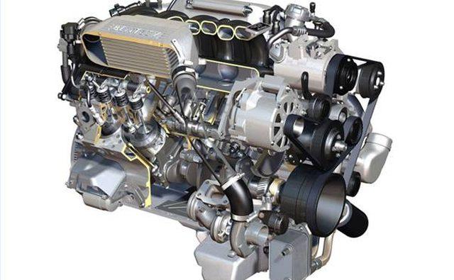 Роскошный Bentley Brooklands работает на V8.