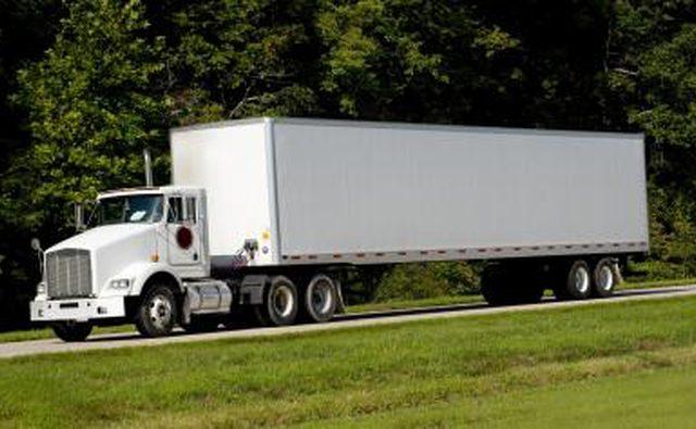 18-колесный грузовик