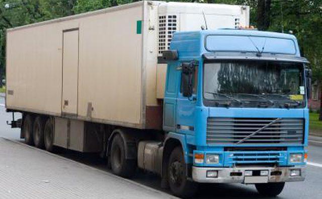 1 тонный грузовик с прицепом