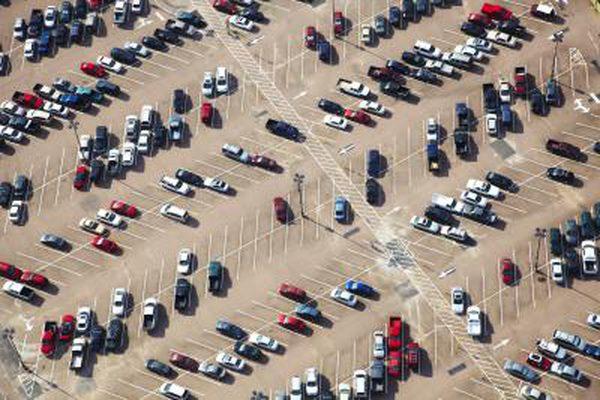 Как сделать 45-градусную парковку