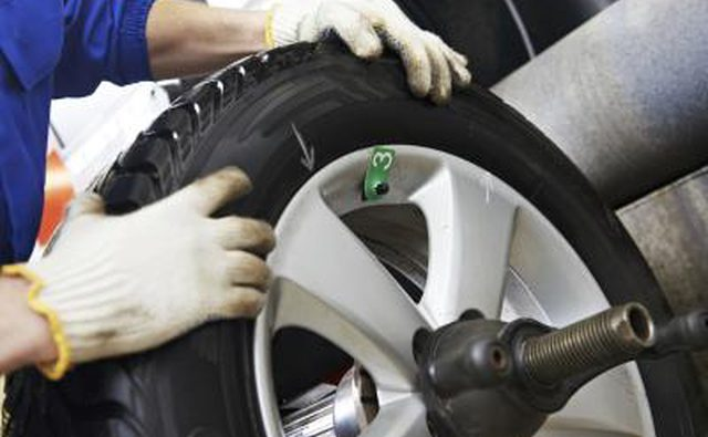 Проверьте шины на предмет износа.