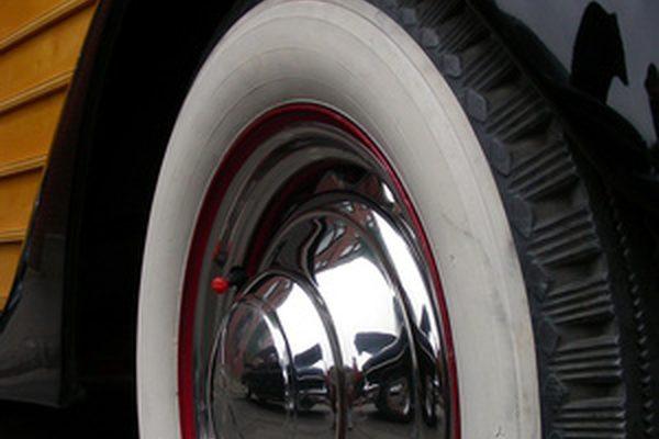 Как покрасить шины Whitewall