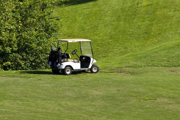Как я могу заставить свою корзину для гольфа простаивать?