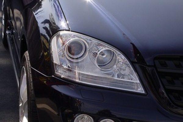 Как заменить лампочку бокового зеркала в Mercedes Benz S430