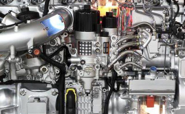 Дизельный двигатель для тяжелых грузовиков