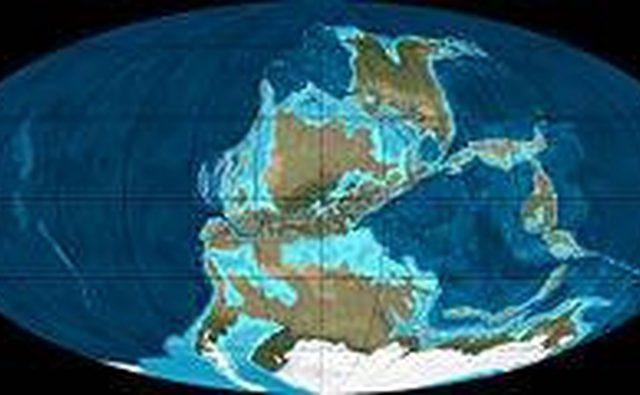 Земля во время позднего каменноугольного периода