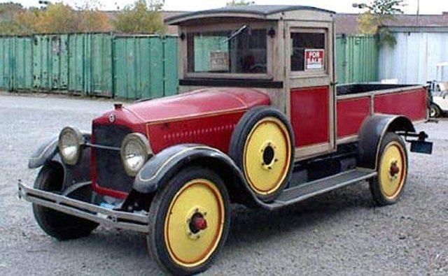 Studebaker 1923 года, модифицированный как пикап