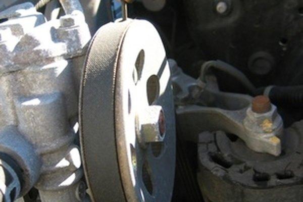 Как поменять ремень вентилятора на Ford E-150 4.6