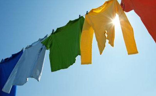 line dry your clothes