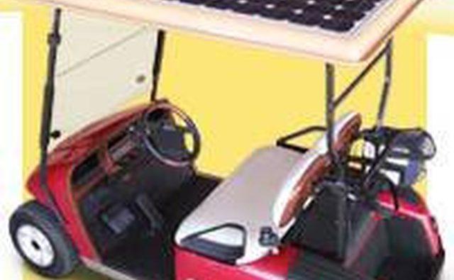 Гольф-кар на солнечных батареях от Cruise Car Inc.