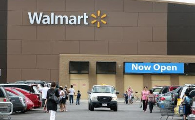 Автостоянка Walmart