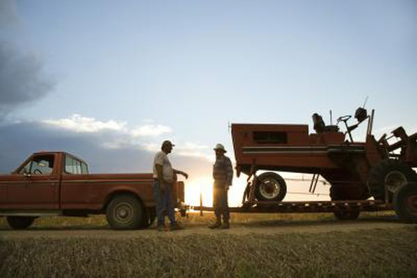 Мой трактор Massey Ferguson застрял в передаче