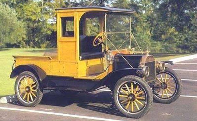 Преобразование модели T с закрытой кабиной 1913 года.