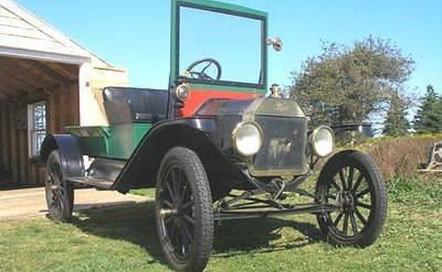 Еще одно преобразование, это модель T 1915 года