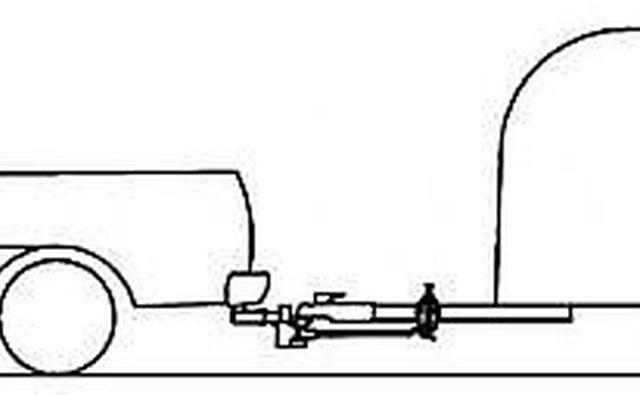 Пример правильно настроенного устройства для распределения веса