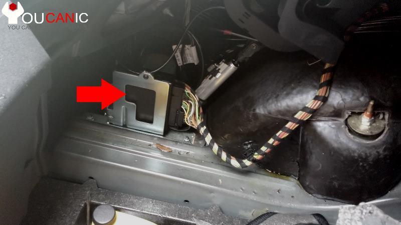 Модуль управления двигателем с откидным верхом Chrysler Crossfire, замена AKS 2004-2007