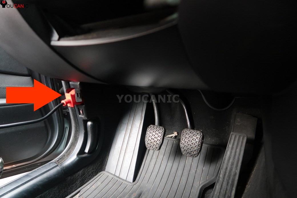 Привязка датчиков давления в шинах для BMW