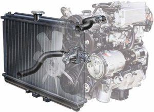 Как промыть радиатор охлаждения двигателя, не снимая