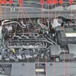 2010-2015 Mazda 5 Предохранители, расположение, схема