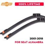 2010-2018 Mazda 5 Замена стеклоочистителей лобового стекла