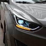 2011-2016 Замена фары Hyundai Elantra в сборе