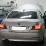 BMW не заводится, показывает желтый символ с символом паркинга