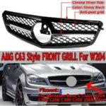 BMW Передняя решетка для удаления DIY Обновление Черная решетка для почек