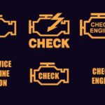 Индикатор двигателя Hyundai Check включен