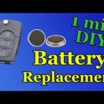 Инструкции по замене батарей Dodge Key Fob
