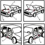 Как найти код краски Kia