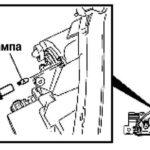 Как поменять передние указатели поворота лампы Mazda5 2010-18