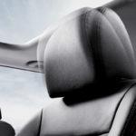 Как снять/отрегулировать подголовник Volvo