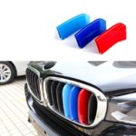 Как установить BMW Grill 3 Color M Decal Stripe
