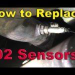 Как заменить Chevrolet Oxygen O2 Sensor