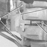 Как заменить датчик износа тормозов Mercedes-Benz