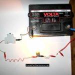 Как зарядить автомобильный аккумулятор Volvo