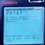 P0141 - OBD-II код ошибки