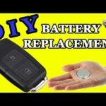 Руководство по замене батарей Audi Key Fob
