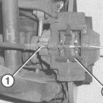 Руководство по замене задних тормозных колодок Mercedes
