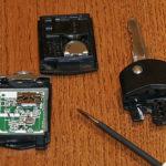Замена батареи Mazda Key