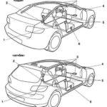 Замена модуля подушки безопасности Mazda