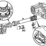 Замена шарниров карданного вала Mercedes