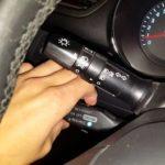 Замена выключателя рычага круиз-контроля BMW