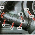 Замена выключателя стеклоочистителей фар Nissan