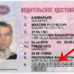 Информация о водительских правах класса D