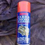 Как использовать очиститель карбюратора
