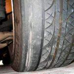 Как исправить плоские пятна в шинах