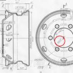 Как измерить размер ступицы колеса
