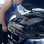 Как мне поменять масло на 540i BMW?